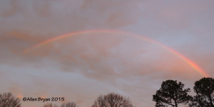Rainbow in Granville County, N.C.