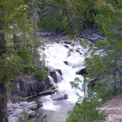 Waterfalls and features, Glacier National Park